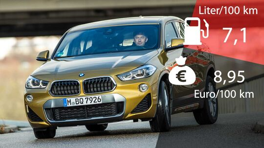 BMW X2 20d xDrive Kosten und Verbrauch