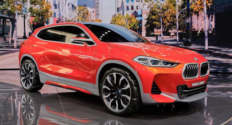 BMW X2 Concept Paris Autosalon