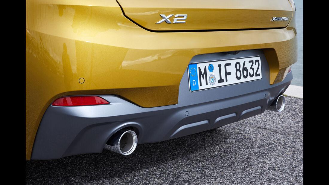 BMW X2 Fahrbericht 2018 SPERRFRIST 05/02/18 00:01 Uhr