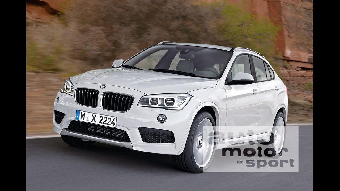 BMW X2, Frontansicht