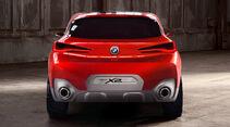 BMW X2, Heckansicht