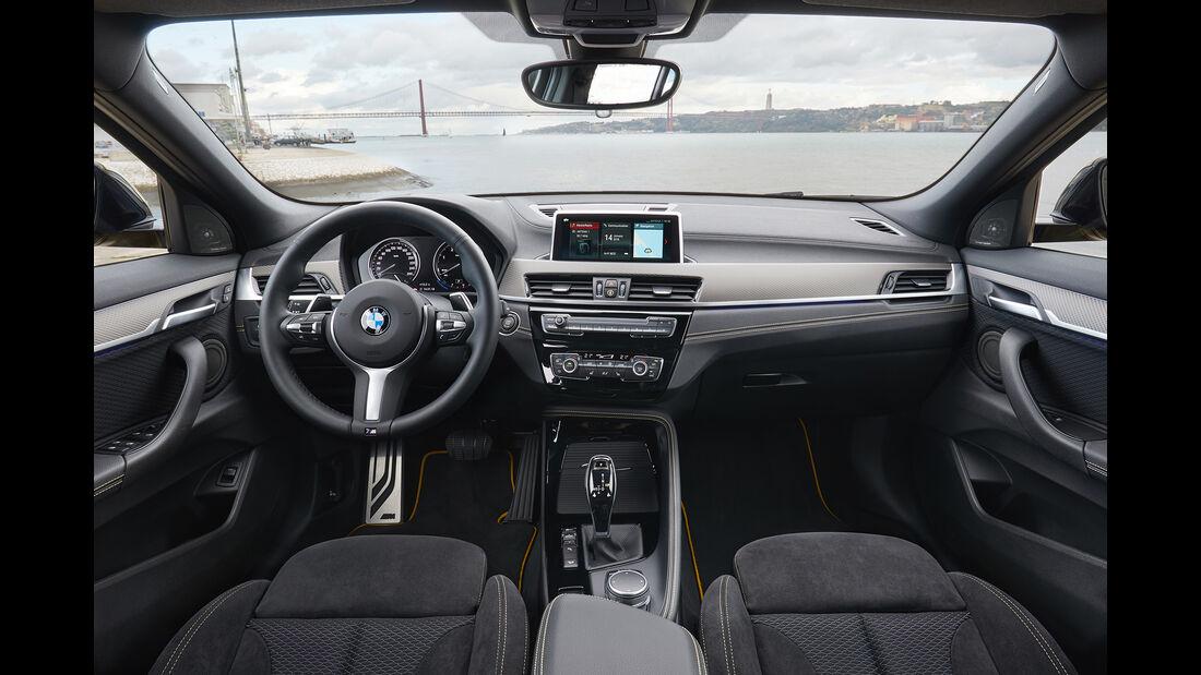 BMW X2, Interieur