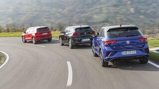 BMW X2 M35i, Cupra Ateca, VW T-Roc R, Exterieur