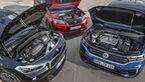 BMW X2 M35i, Cupra Ateca, VW T-Roc R, Motorraum