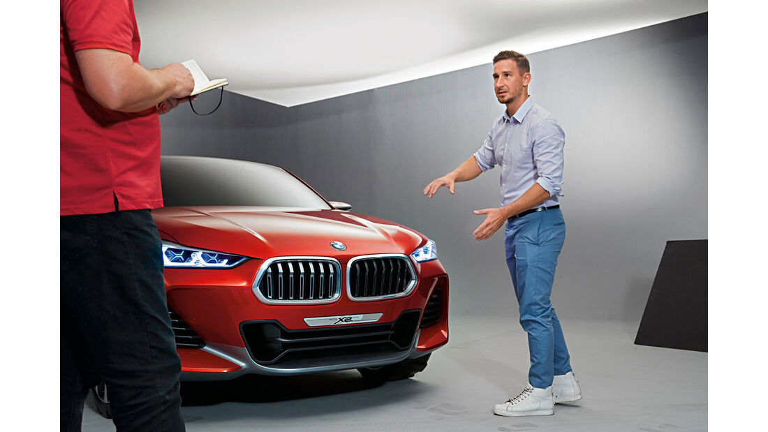BMW X2, Sebastian Simm
