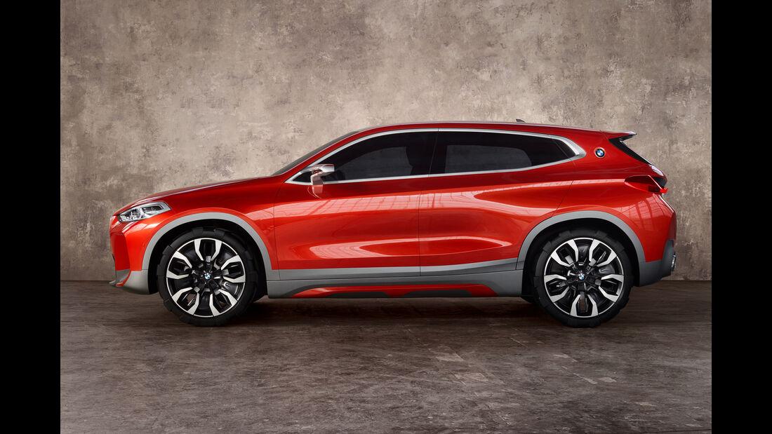 BMW X2, Seitenansicht