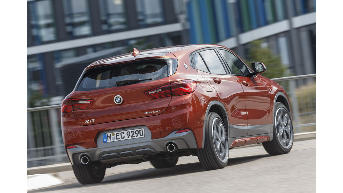 BMW X2 xDrive 18d, Exterieur