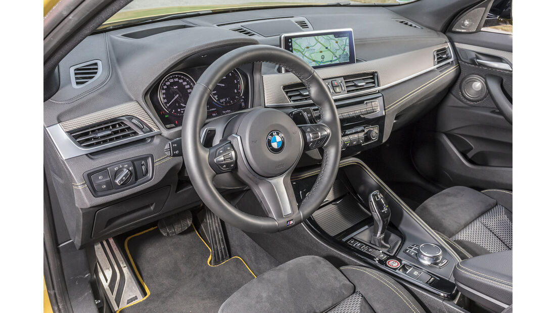BMW X2 xDrive 20d, Interieur