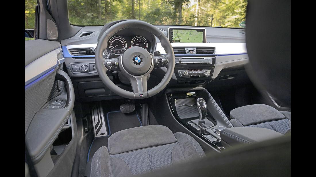 BMW X2 xDrive 20i, Interieur