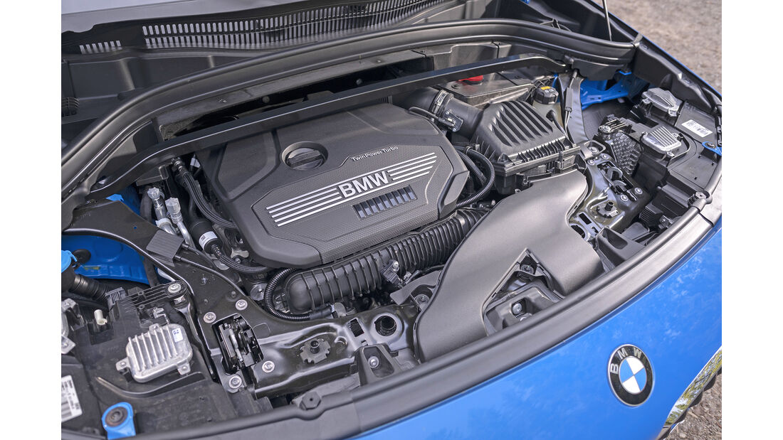 BMW X2 xDrive 20i, Motorraum