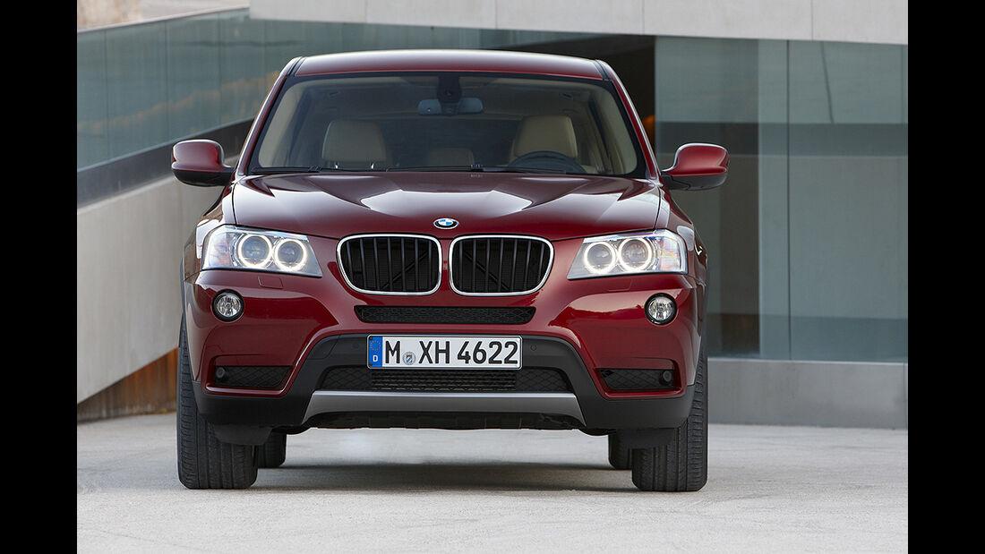 BMW X3 2010, Facelift, SUV
