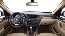 BMW X3 2010, Facelift, SUV, Cockpit