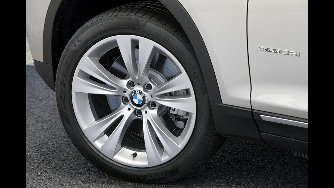 BMW X3 2010, Facelift, SUV, Felge