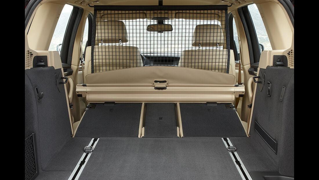 BMW X3 2010, Facelift, SUV, Kofferraum