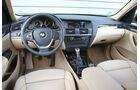 BMW X3 20d, Cockpit, Innenraum