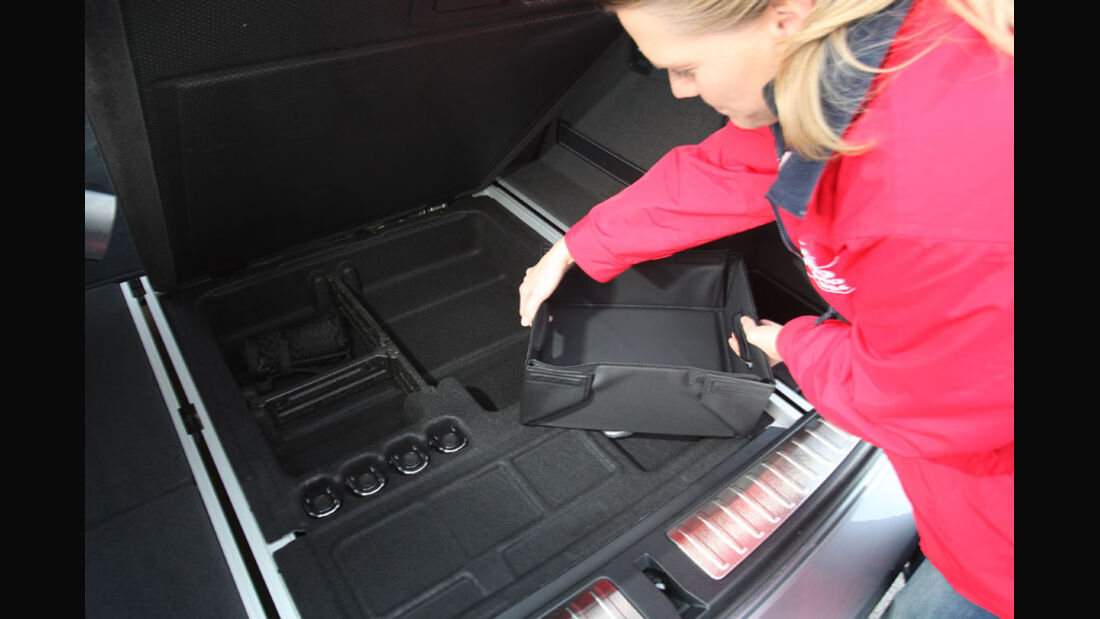 BMW X3 20d, Kofferraum