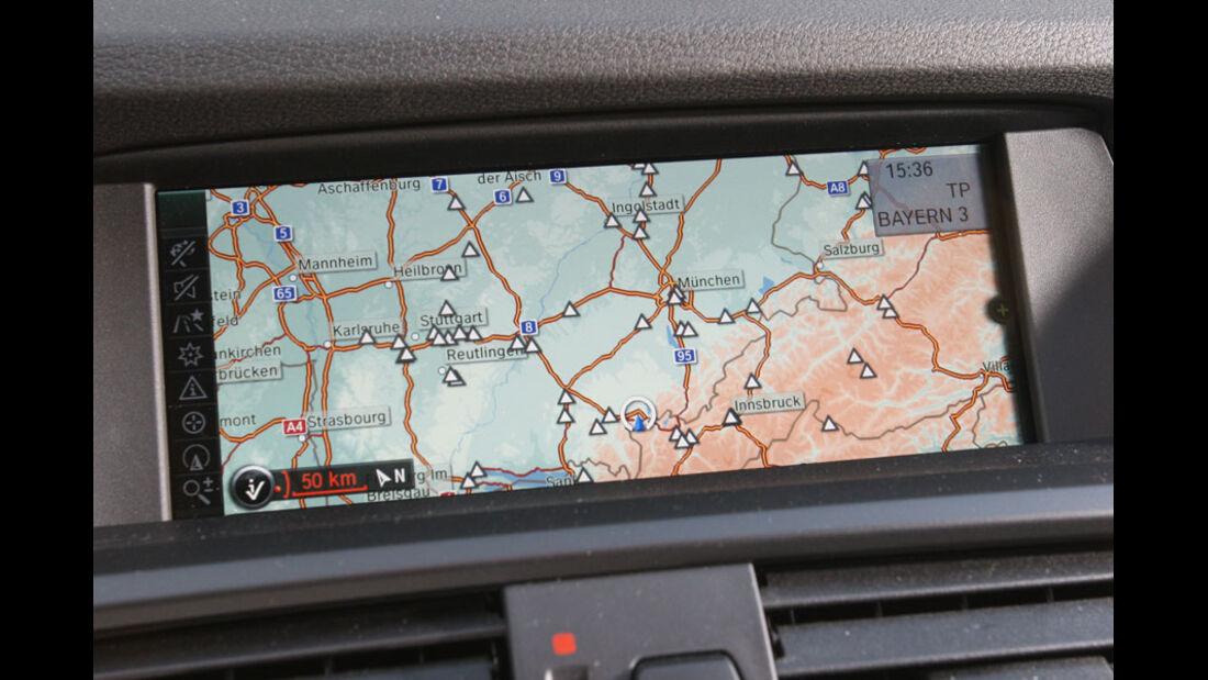 BMW X3 20d, Navigationssystem