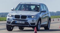 BMW X3 20d xDRIVE, Frontansicht