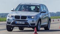 BMW X3 20d xDRIVE, Frontansicht