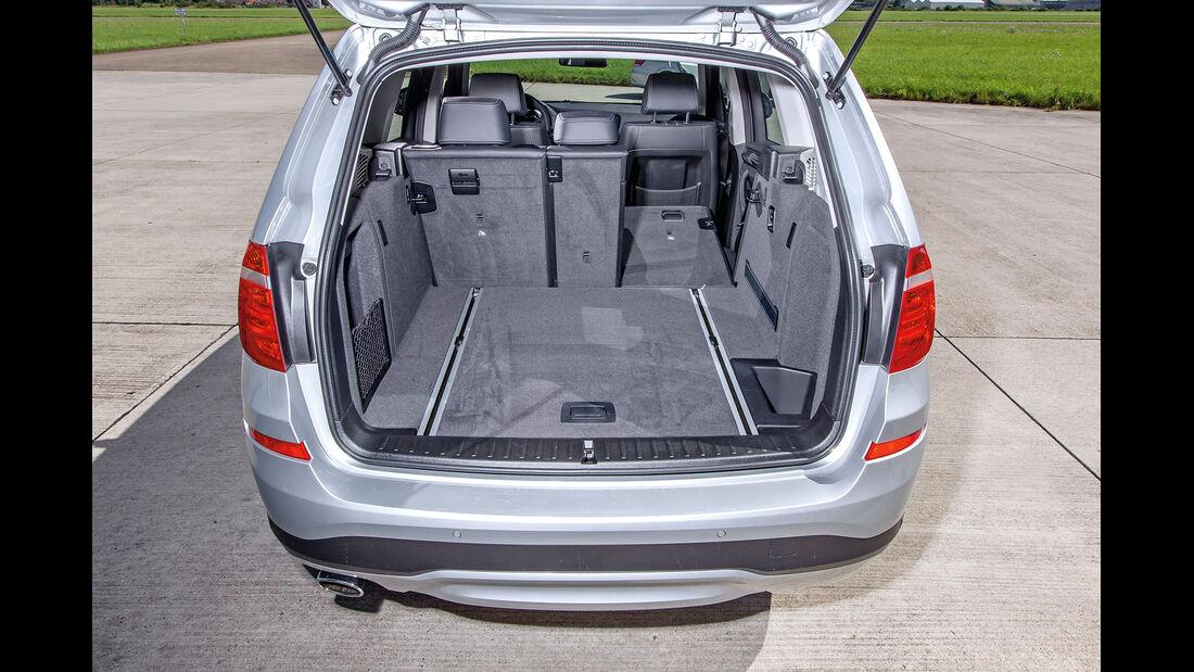 BMW X3 20d xDRIVE, Kofferraum