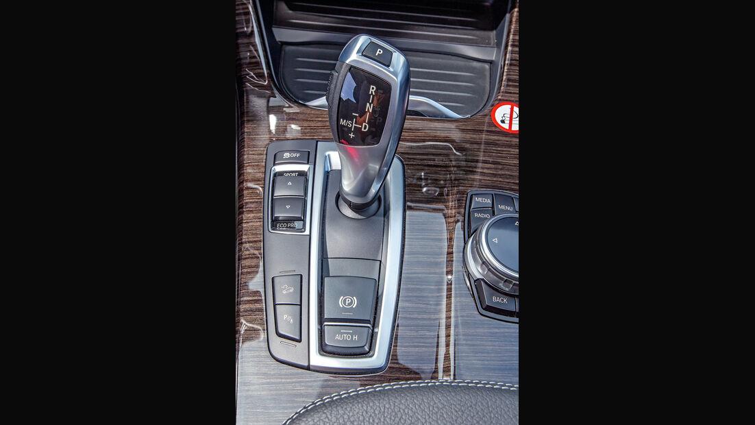 BMW X3 20d xDRIVE, Schalthebel