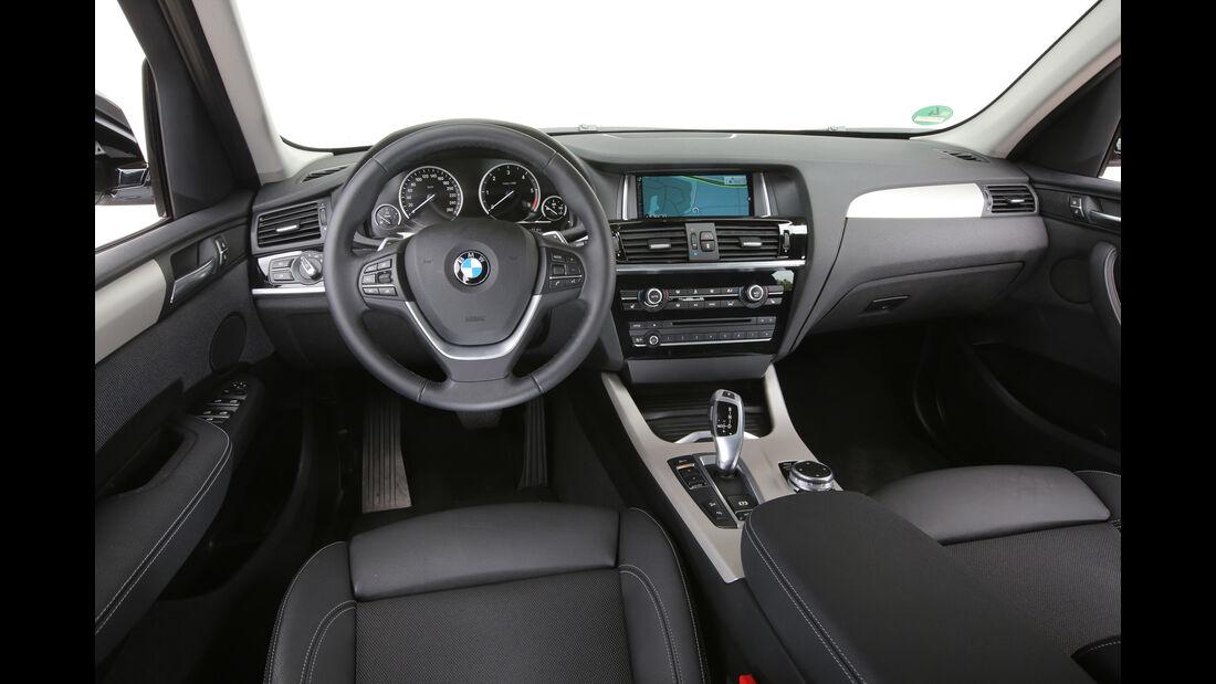 BMW X3 20d xDrive, Cockpit