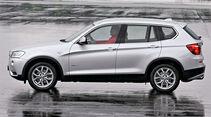 BMW X3 30d, Seitenansicht