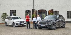 BMW X3 30e, BMW X5 45e, Exterieur