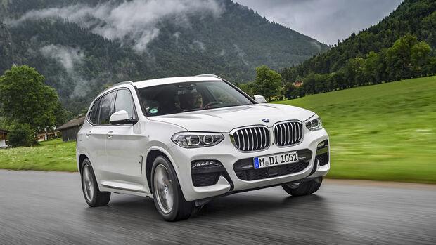 BMW X3 30e, Exterieur