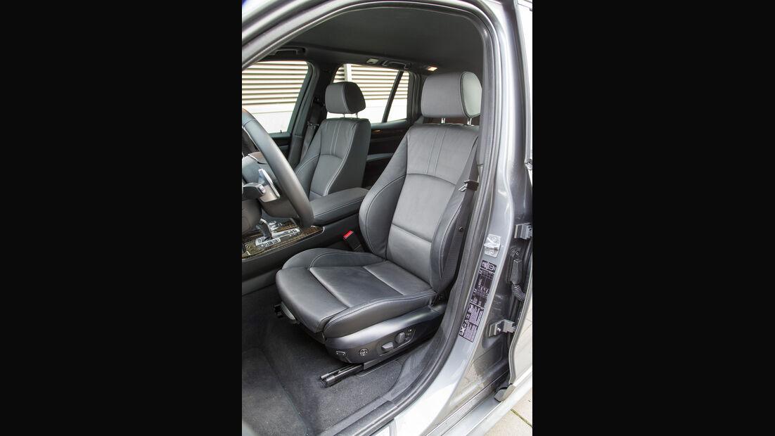 BMW X3 35d x-Drive, Fahrersitz