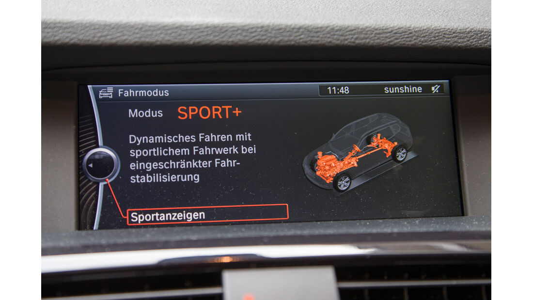 BMW X3 35d x-Drive, Navi, Monitor, Fahreinstellung