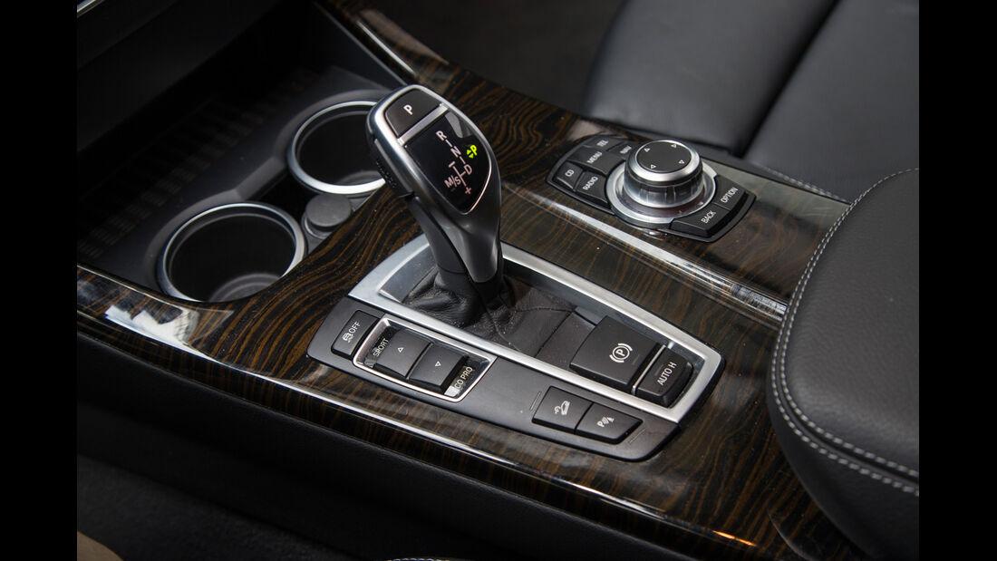 BMW X3 35d x-Drive, Schalthebel, Schaltknauf