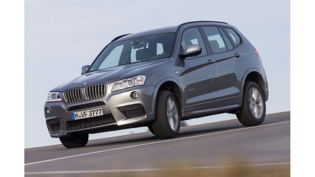 BMW X3 35d x-Drive, Seitenansicht