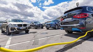 BMW X3, Antriebsvarianten