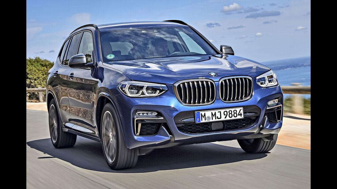 BMW X3, Best Cars 2020, Kategorie K Große SUV/Geländewagen