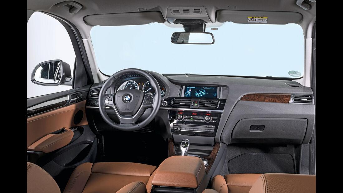 BMW X3, Cockpit
