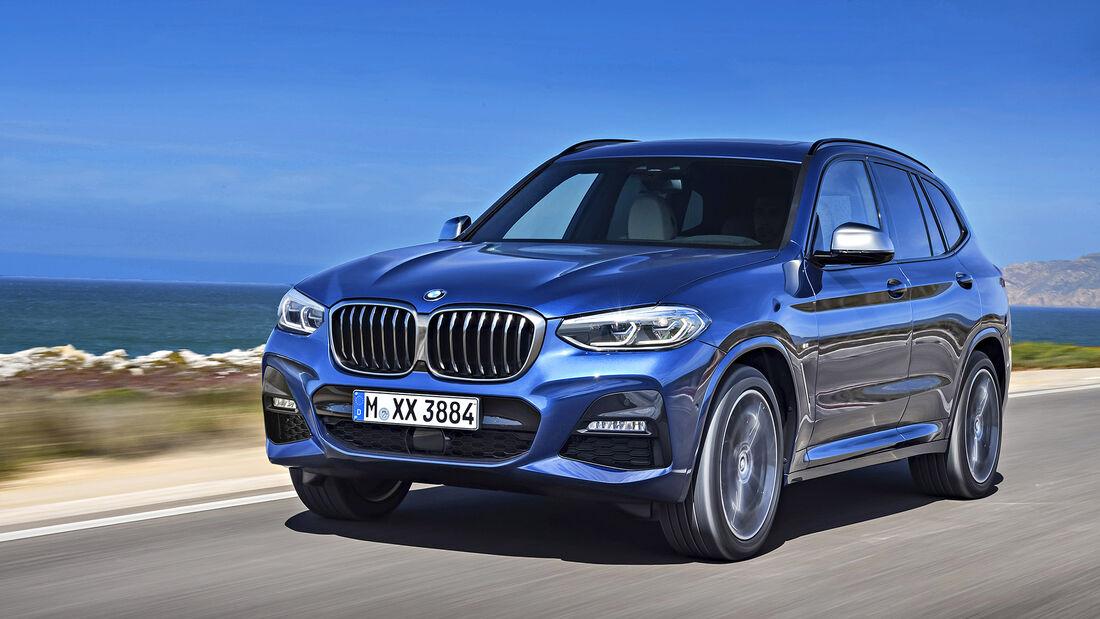 BMW X3, Exterieur