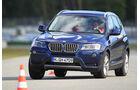 BMW X3, Frontansicht