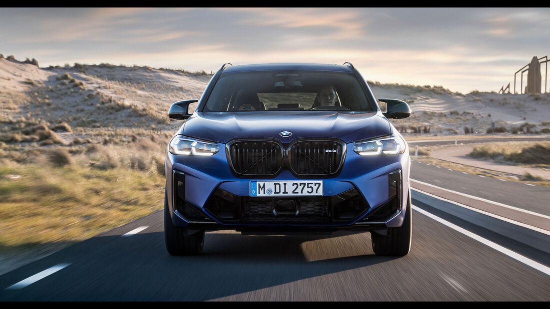 BMW X3 (G01) LCI M Competition (2021) Facelift Exterieur
