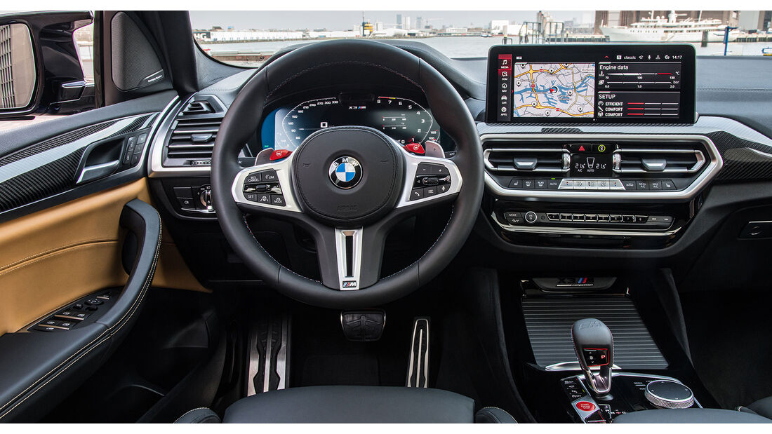 BMW X3 (G01) LCI M Competition (2021) Facelift Interior