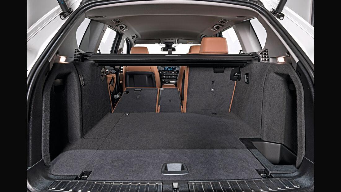 BMW X3, Kofferraum