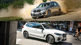 BMW X3 M Competition, BMW X5 M Competition, Exterieur