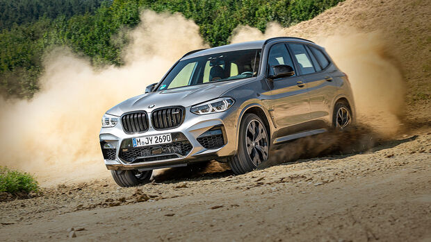 BMW X3 M Competition, Exterieur