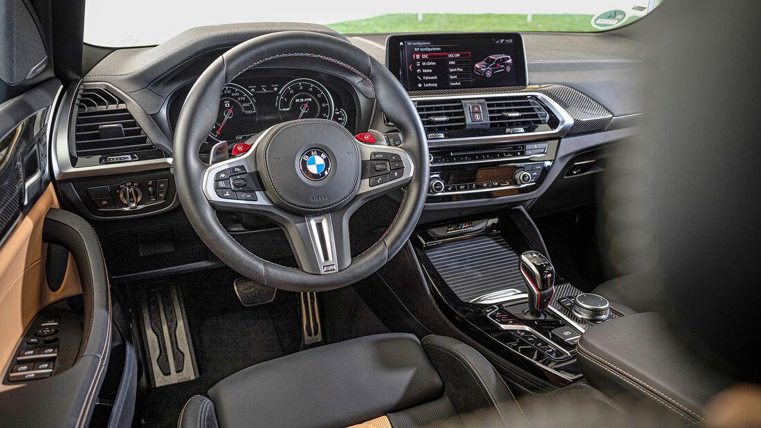 BMW X3 M Competition, Interieur