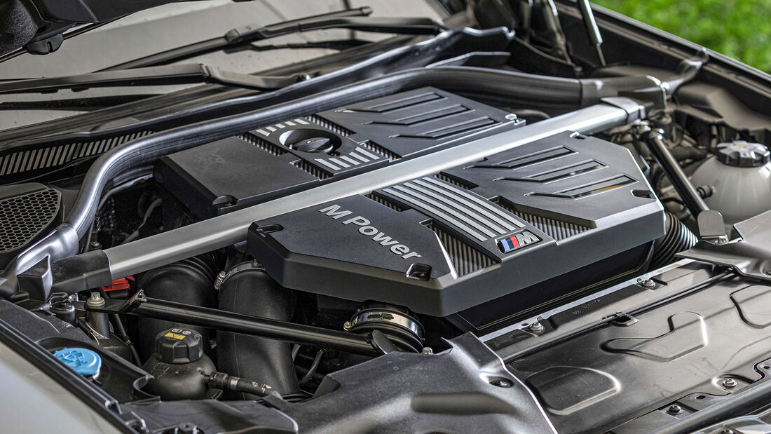 BMW X3 M Competition, Motor