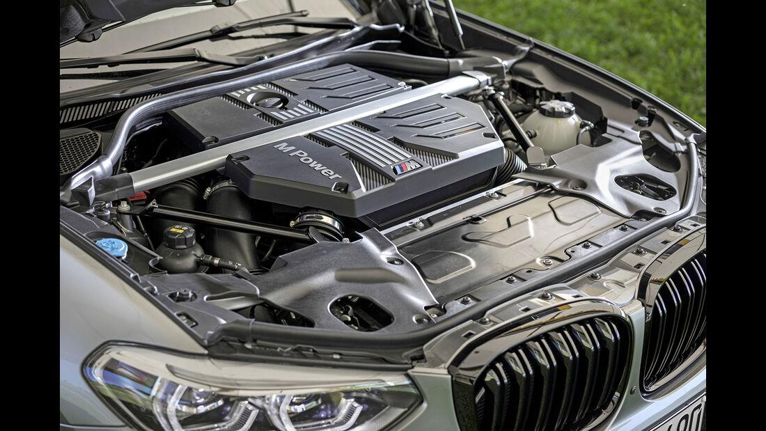 BMW X3 M Competition, Motorraum