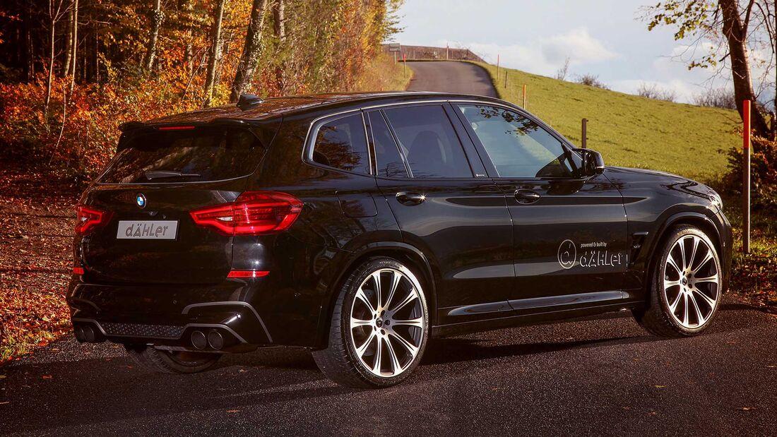 BMW X3 M (F97) Dähler