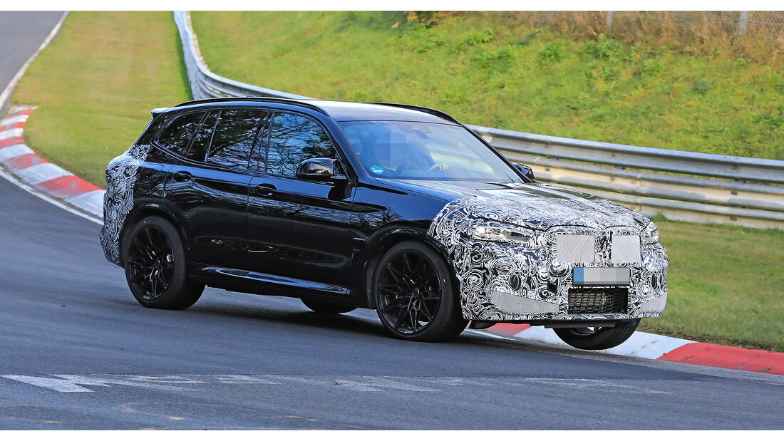 Neuer BMW X3/X3 M (2021): Facelift für den Kompakt-SUV ...