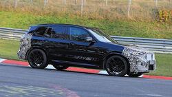 BMW X3 M Facelift Erlkönig