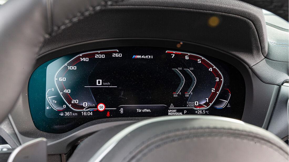 BMW X3 M40i, Interieur